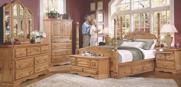Furniture Traditions: Masterpiece Collection Bedroom Set