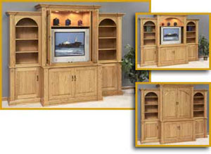 Office Furniture Solid Wood Entertainment Centers For Sale in ...
