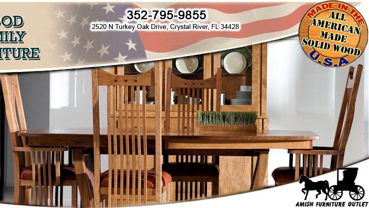 Solid Wood Furniture in Citrus County, Amish Furniture in Crystal